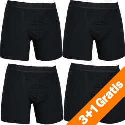 HOM H01 Original New Maxi Long 4Pack Zwart Actie 3+1 Gratis