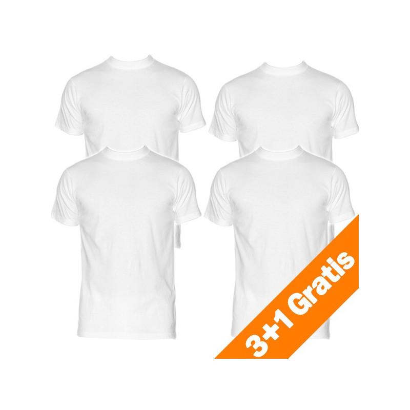 HOM Harro New Shirt White Round Neck 3+1 free action