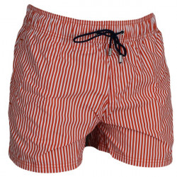 HOM Zwembroek Beach Fun Marine Chic Orange Stripes