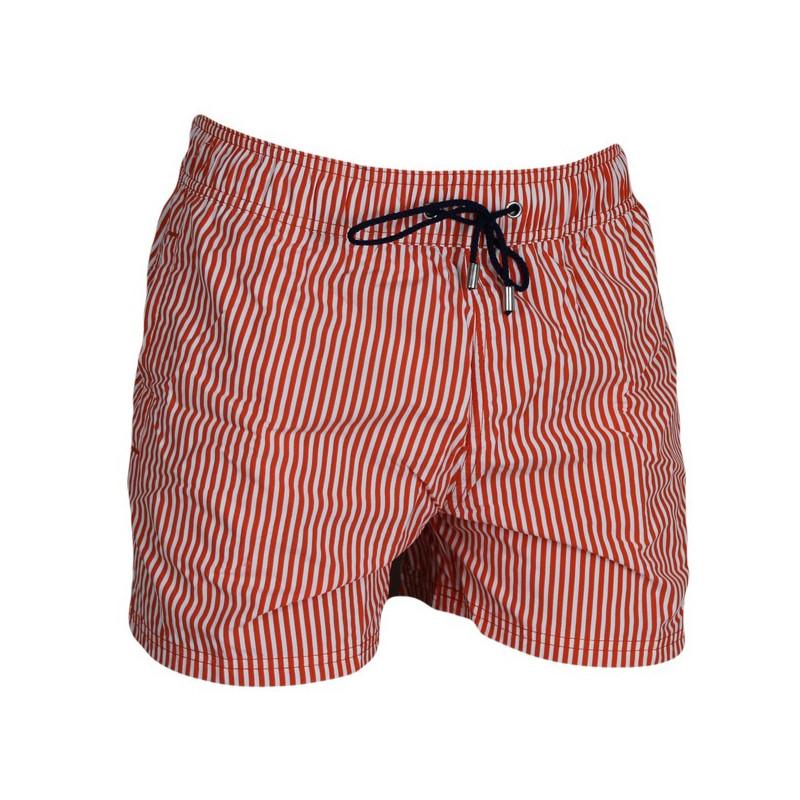 d521422fde01a6 HOM Zwembroek Beach Fun Marine Chic Orange Stripes - Homshop
