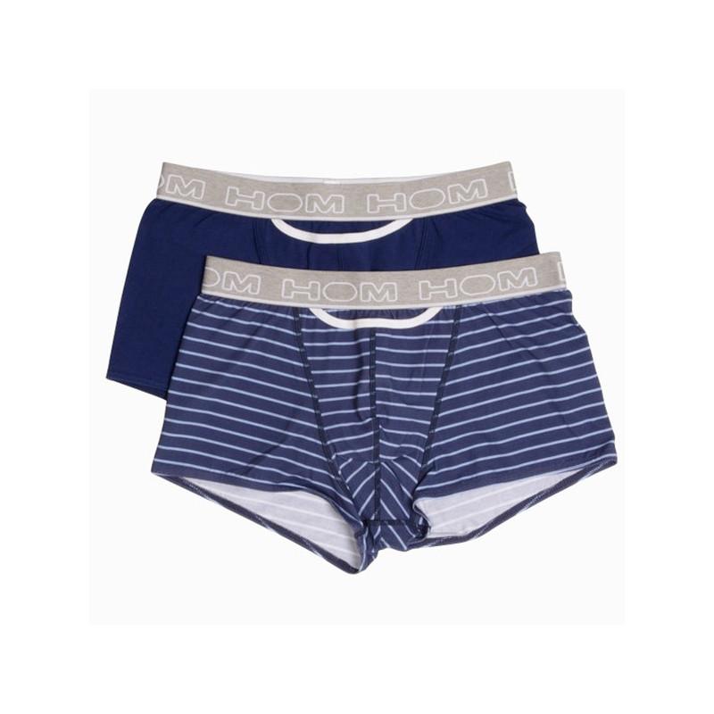 HOM H01 Boxerlines MultipleColors Pop Blue 2Pack Boxer shorts