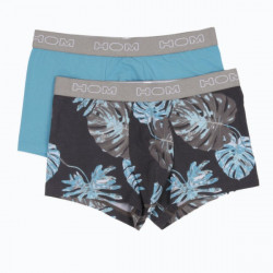 HOM Boxer Letter Street Palm 2Pack Boxerlines