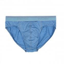HOM HO1 Mini Brief Slip Jeans Blue