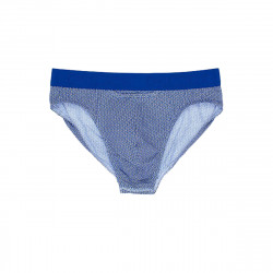 HOM H01 Slip Mini Brief Topaz Navy White