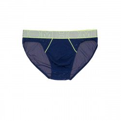 HOM Slip Comfort Micro Brief Cross Navy