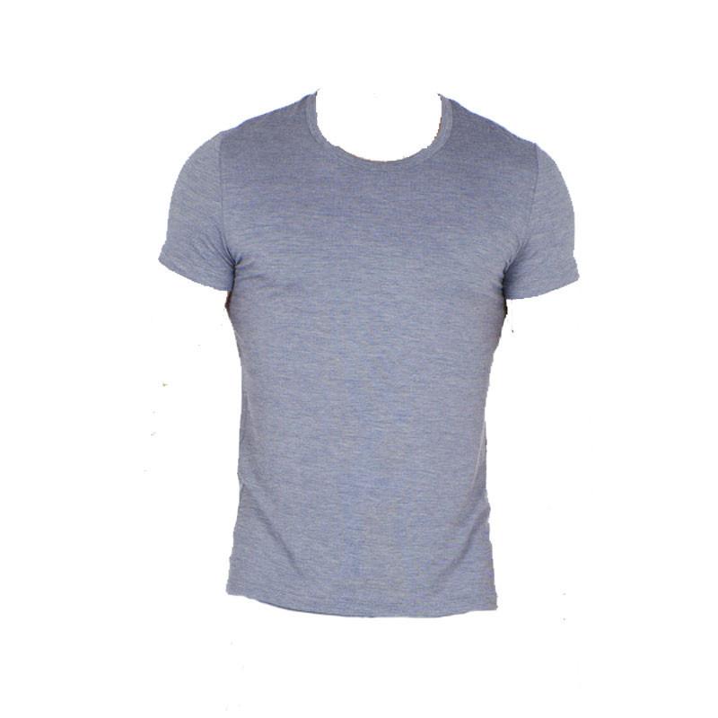 HOM Modal shirt White Round Neck