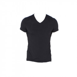 HOM V-shirt Plumes Black V-Hals