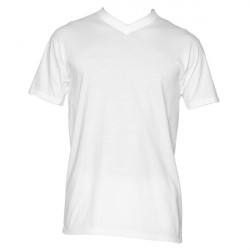 Hom Hilary V-shirt white