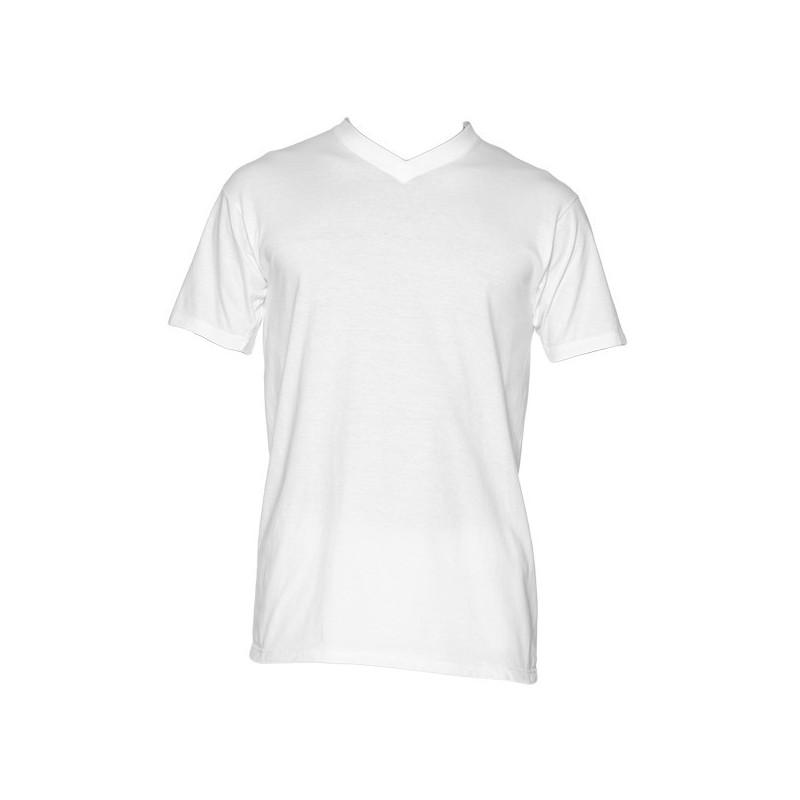 Hom Hilary V-shirt wit