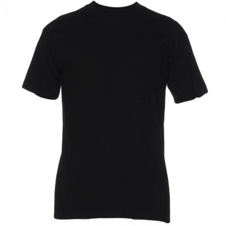 HOM Harro New Shirt Black Round Neck Black