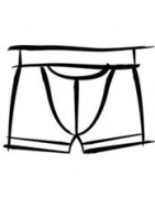 H01 boxer shorts with Fly